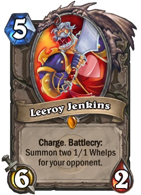Leeroy Card